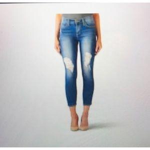 Rock & Republic crop skinny jeans